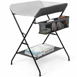 Costzon Folding Diaper Station
