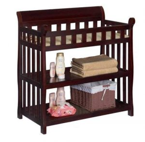 Delta Children Eclipse dark brown changing table