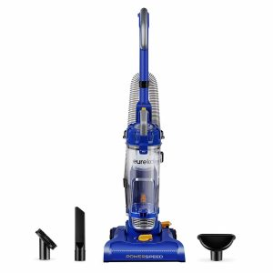 Eureka NEU182A PowerSpeed Bagless Upright Vacuum Cleaner, Blue