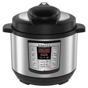 Instant Pot LUX Mini compact stainless steel rice cooker