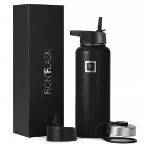 Iron Flask Sports Black Thermo for hot/cold beverages