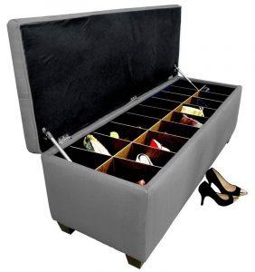 The Sole Secret Shoe Storage Bench