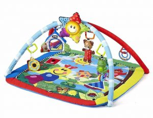 Baby play gym with music and lights