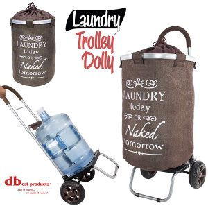 dbest Products Rolling Laundry Hamper