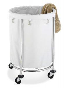 Whitmor Round Laundry Hamper