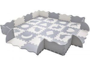 36-piece baby play mat and play pit