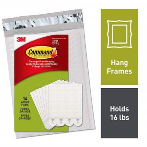 3M Command Strips for pictures