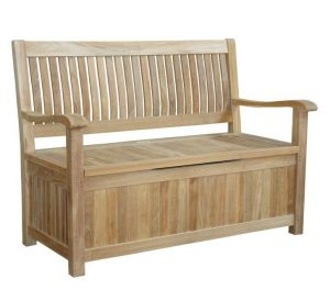 Anderson Teak Del-Amo patio storage bench