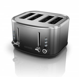 BLACK+DECKER 4-Slice Extra-Wide Slot Toaster