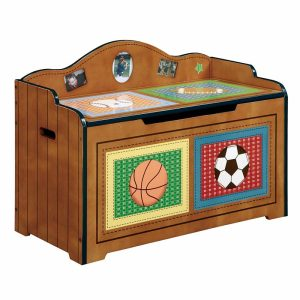 Fantasy Fields Lil' Sports Fan Wooden Chest