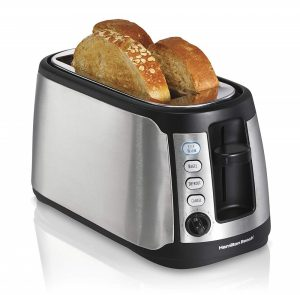 Hamilton Beach Long Slot Stainless Steel Toaster