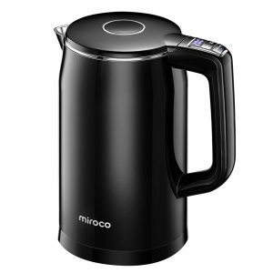 Miroco black electric kettle
