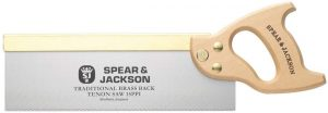 Spear & Jackson 9550B Traditional Brass Back Tenon Saw