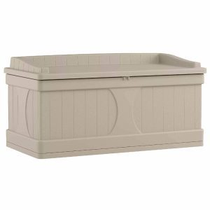 Suncat 99-gallon storage bench ABS plastic