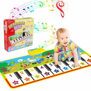WOSTOO Piano Mat with Animal Sounds