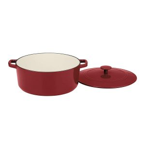 Cuisinart CI670-30CR enamel coated cast iron Dutch oven