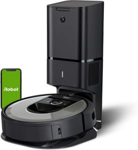 iRobot Roomba i6+ (6550) Robot Vacuum with Automatic Dirt Disposal