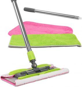 LINKYO floor mop with microfiber cloths
