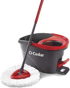 O-Cedar Spin floor mop and bucket
