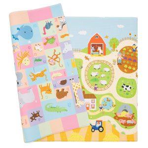 Farm themed G&G Baby Care play mat