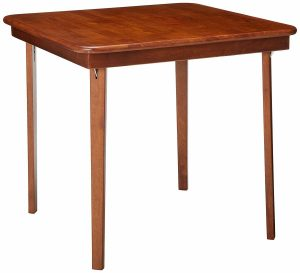 Meco STAKMORE Straight Edge Wooden Folding Table