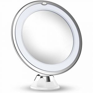 Vimdiff 2020 Version 10X Magnifying Makeup Mirror