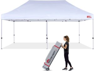 MASTERCANOPY large 10x20 commercial pop-up canopy tent