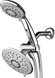 Hydroluxe 1841 Rainfall and Handheld Shower Head Combo