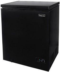 Magic Chef HMCF5W4 black chest freezer