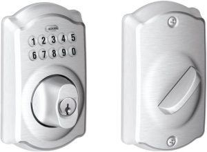 Schlage Camelot electronic door lock