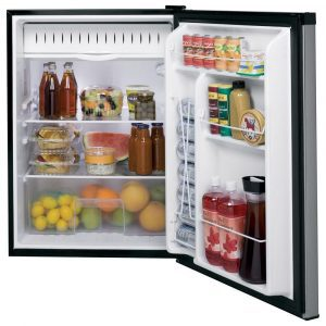 GE Compact GCE06GGHBB undercounter refrigerator