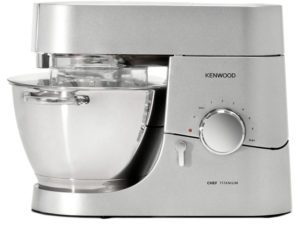 Kenwood Chef silver stand mixer