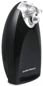Hamilton Beach Classic Chrome Electric Can Opener