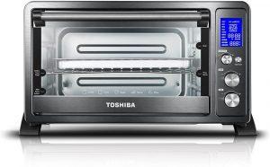 Toshiba AC25CEW-BS rotisserie oven