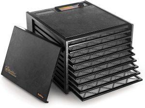 Excalibur 3900B black food dehydrator with 9 trays