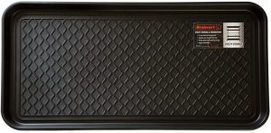 Stalwart All Weather Boot Tray black plastic