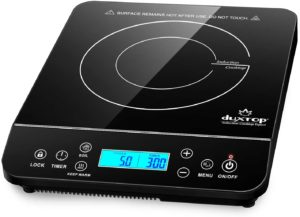Duxtop BT-200DZ Portable Induction Cooktop, black design