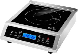 Duxtop BT-C35-D Professional Portable Induction Cooktop, heavy-duty design with LCD screen