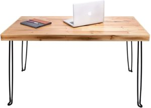 SLEEKFORM wooden folding table for games and work
