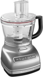 KitchenAid KFP1466CU 14-Cup Food Processor with Exact Slice System and Dicing Kit Contour Silver Finish