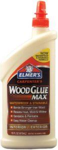 Elmer's E7310 Carpenter's Wood Glue Max bottle of wood glue