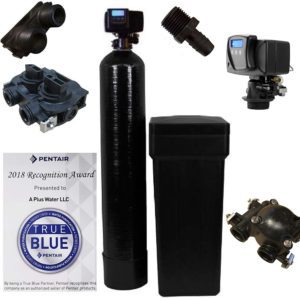Fleck 5600SXT water softener system kit for the whole house