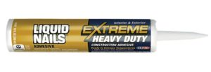 Liquid Nails Extreme Heavy Duty construction adhesive in a tube