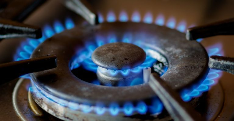 Propane burner working seamlessly