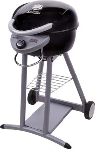 Char-Broil Patio Bistro dome-shaped, black electric grill
