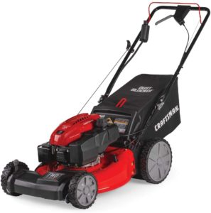 Craftsman M275 red-black lawn mower self-propelled with electric start
