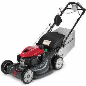 Honda HRX217VLA gas powered electric start lawn mower