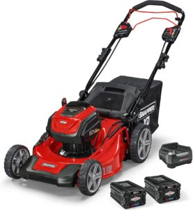 Snapper 1687914 battery powered self-propelled lawn mower