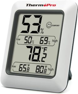 ThermoPro TP50 Digital Hygrometer and thermometer